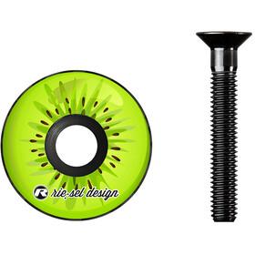 Riesel Design stem:cap do sterów, zielony